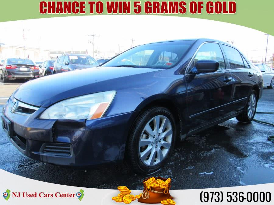 Used 2007 Honda Accord Sdn in Irvington, New Jersey | NJ Used Cars Center. Irvington, New Jersey