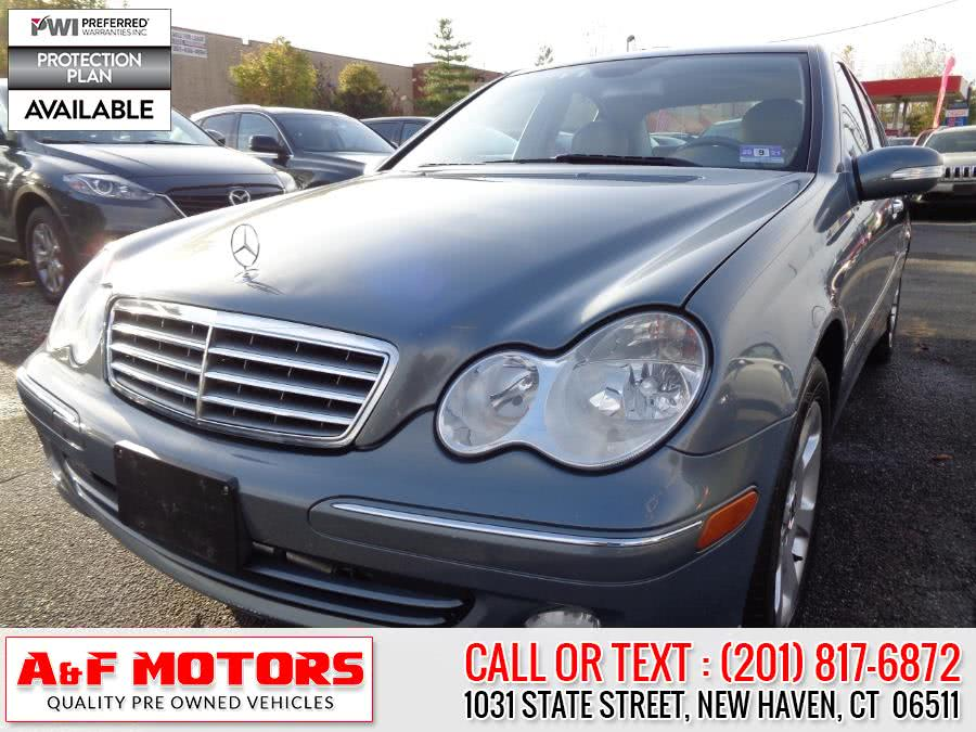 Used Mercedes-Benz C-Class 4dr Sdn 2.6L 4MATIC 2005 | A&F Motors LLC. East Rutherford, New Jersey