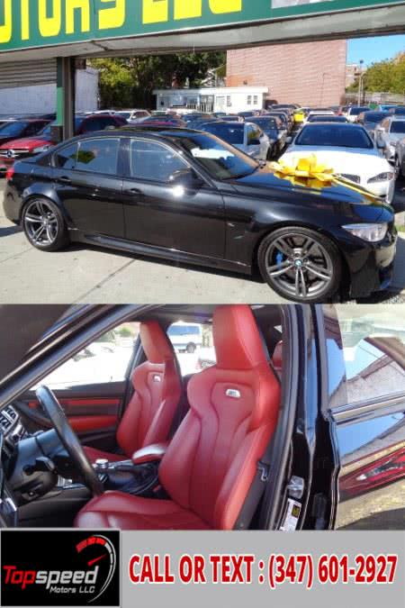 Used 2015 BMW M3 sedan 6 Speed Manual HK Premium Sound in Jamaica, New York | Top Speed Motors LLC. Jamaica, New York