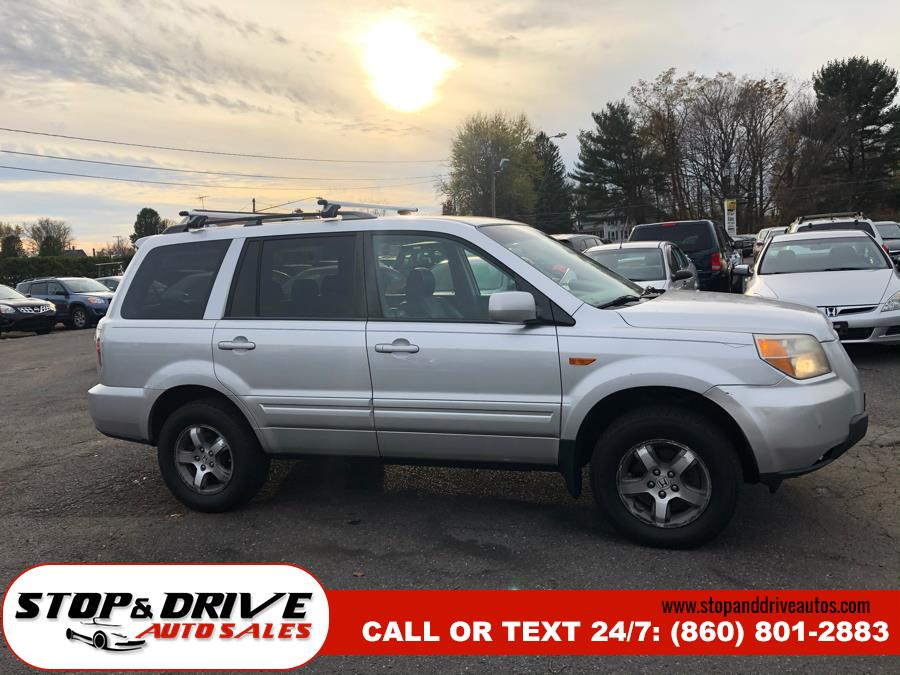 2008 Honda Pilot 4WD 4dr EX-L, available for sale in East Windsor, Connecticut | Stop & Drive Auto Sales. East Windsor, Connecticut