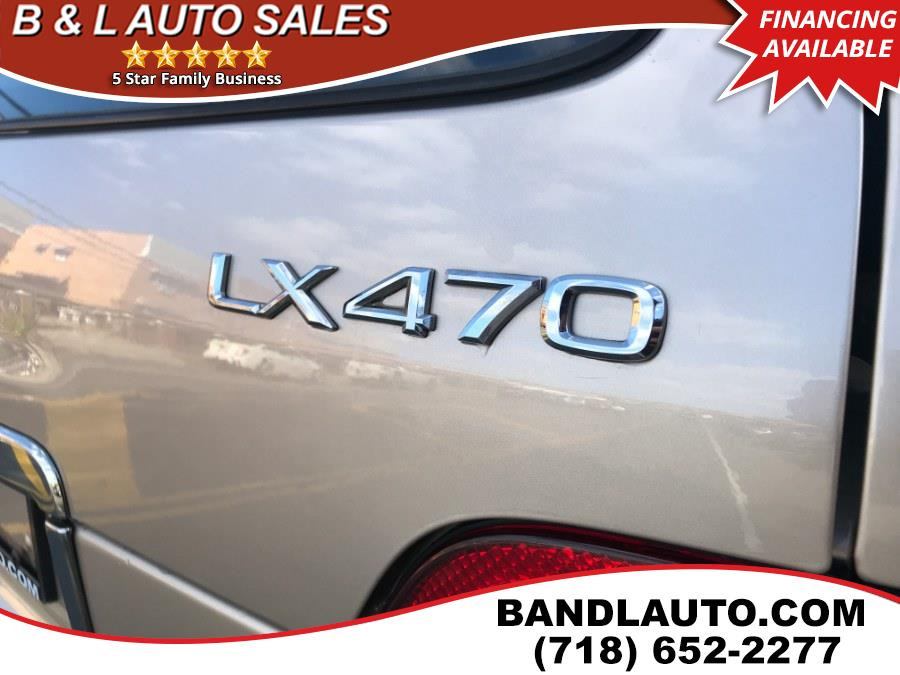 2002 Lexus LX 470 4dr SUV, available for sale in Bronx, New York | B & L Auto Sales LLC. Bronx, New York
