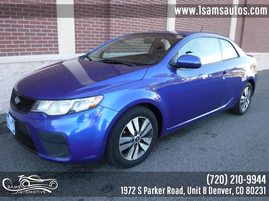 Used 2013 Kia Forte Koup in Denver, Colorado | Sam's Automotive. Denver, Colorado