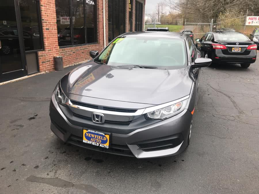 Used Honda Civic Sedan LX CVT 2017 | Newfield Auto Sales. Middletown, Connecticut