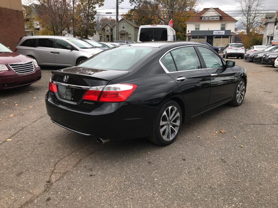 2015 Honda Accord Sedan 4dr I4 CVT Sport, available for sale in Manchester, Connecticut   Best Auto Sales LLC. Manchester, Connecticut