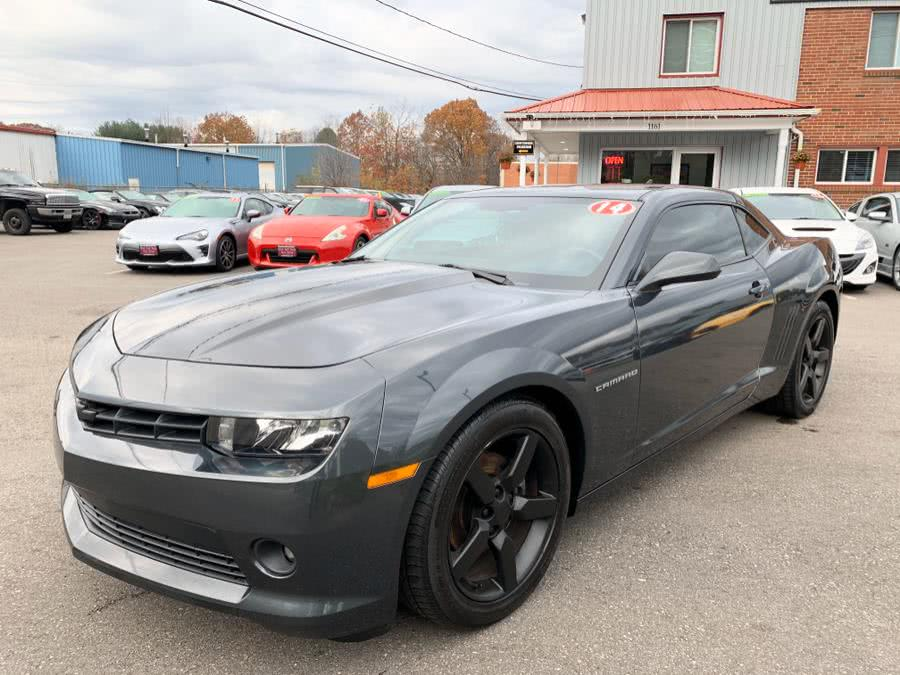 2014 Chevrolet Camaro 2dr Cpe LT w/1LT, available for sale in South Windsor, Connecticut | Mike And Tony Auto Sales, Inc. South Windsor, Connecticut