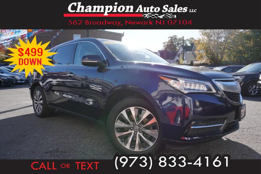 Used 2016 Acura MDX in Newark , New Jersey | Champion Used Auto Sales 2. Newark , New Jersey