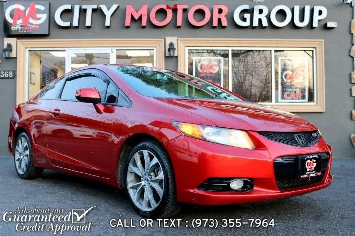Used 2012 Honda Civic in Haskell, New Jersey | City Motor Group Inc.. Haskell, New Jersey