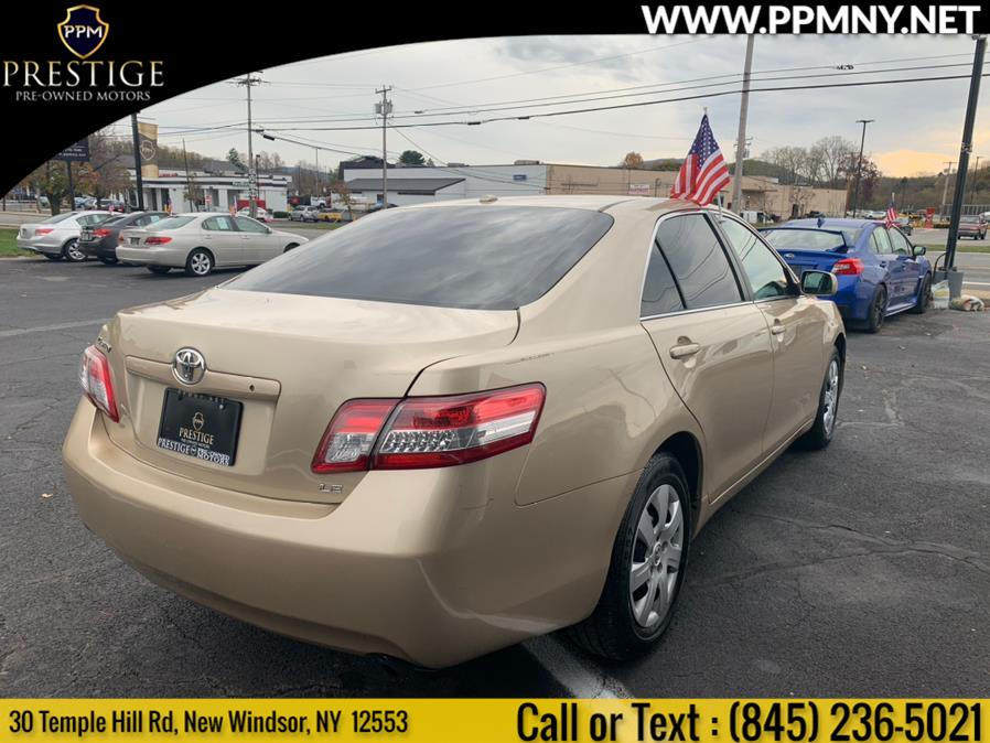 2011 Toyota Camry 4dr Sdn I4 Auto LE (Natl), available for sale in New Windsor, New York | Prestige Pre-Owned Motors Inc. New Windsor, New York