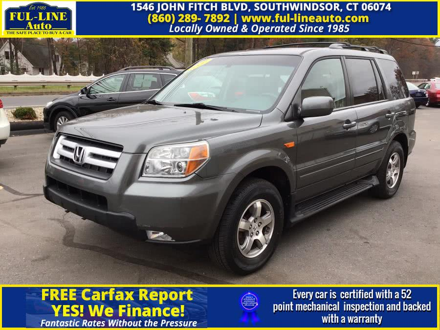 Used 2007 Honda Pilot in South Windsor , Connecticut | Ful-line Auto LLC. South Windsor , Connecticut