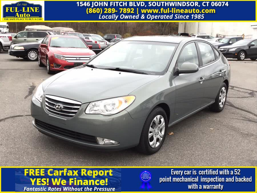 Used Hyundai Elantra 4dr Sdn Auto GLS PZEV 2010 | Ful-line Auto LLC. South Windsor , Connecticut