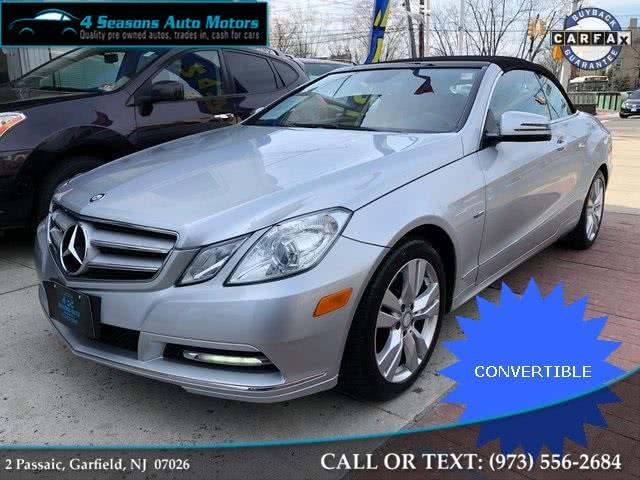 Used 2012 Mercedes-benz E-class in Garfield, New Jersey | 4 Seasons Auto Motors. Garfield, New Jersey