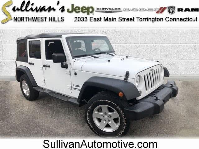 Used Jeep Wrangler Unlimited Sport 2017 | Sullivan Automotive Group. Avon, Connecticut