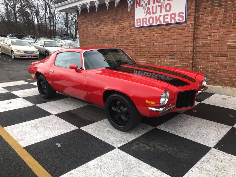 Used Chevrolet Camaro RS Tribute 1973 | National Auto Brokers, Inc.. Waterbury, Connecticut