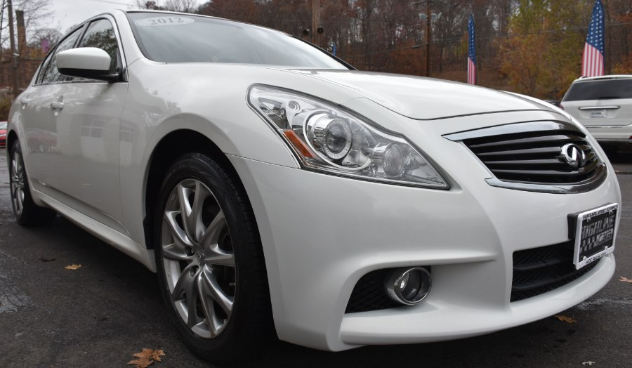 2012 Infiniti G37 Sedan S, available for sale in Waterbury, Connecticut | Highline Car Connection. Waterbury, Connecticut