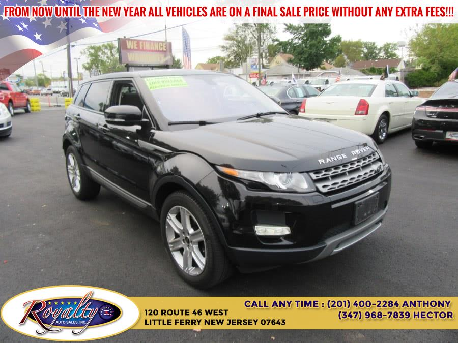 2013 Land Rover Range Rover Evoque 5dr HB Pure Plus, available for sale in Little Ferry, New Jersey | Royalty Auto Sales. Little Ferry, New Jersey