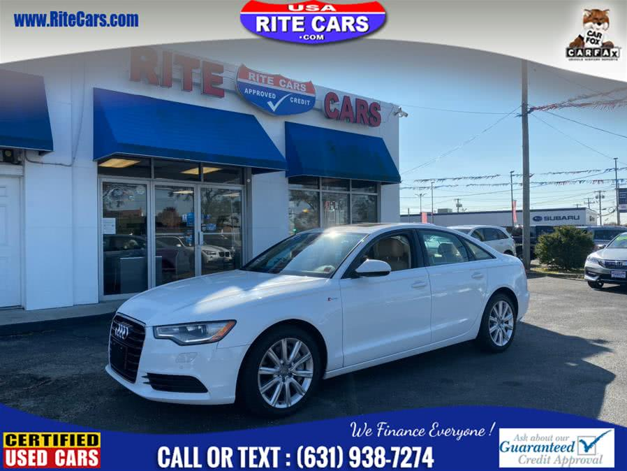 Used Audi A6 4dr Sdn quattro 3.0T Prem Plus w/ Heated Steering 2014 | Rite Cars, Inc. Lindenhurst, New York