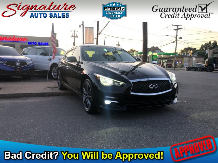 Used 2014 INFINITI Q50 in Franklin Square, New York | Signature Auto Sales. Franklin Square, New York