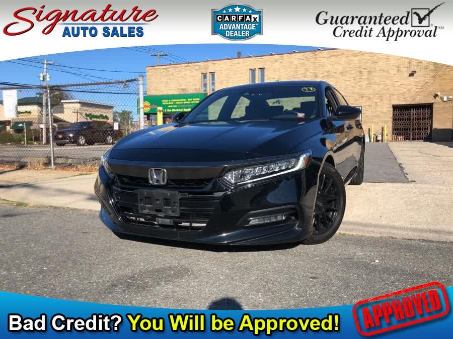 Used 2018 Honda Accord Sedan in Franklin Square, New York | Signature Auto Sales. Franklin Square, New York