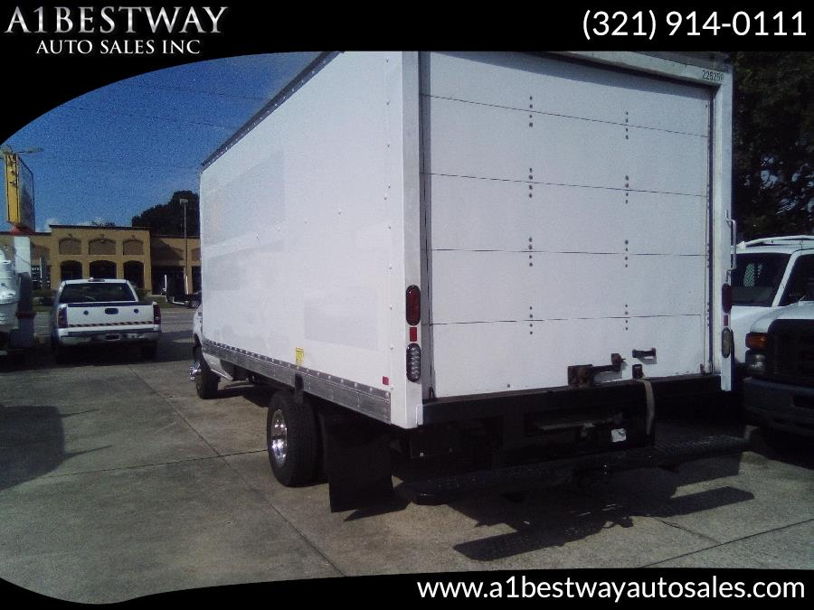 "Used Ford E 350 DRW BOX VAN E-350 Super Duty 176"" DRW 2012 