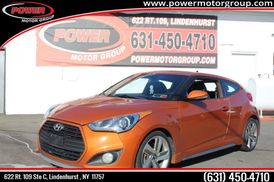 Used Hyundai Veloster 3dr Cpe Auto Turbo w/Black Int 2013 | Power Motor Group. Lindenhurst , New York