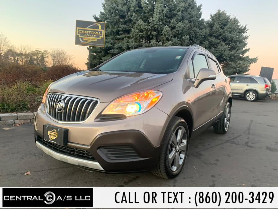 Used Buick Encore AWD 4dr 2014 | Central A/S LLC. East Windsor, Connecticut