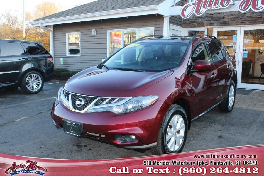 Used 2012 Nissan Murano in Plantsville, Connecticut | Auto House of Luxury. Plantsville, Connecticut