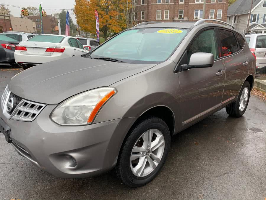 2012 Nissan Rogue AWD 4dr S, available for sale in New Britain, Connecticut | Central Auto Sales & Service. New Britain, Connecticut