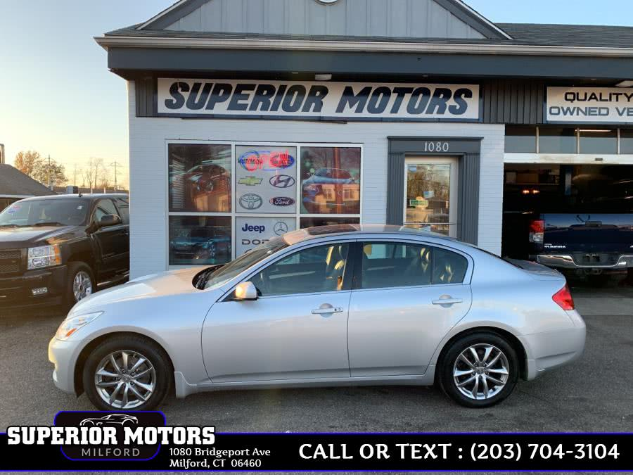 Used 2008 Infiniti G35 X Drive Sedan in Milford, Connecticut | Superior Motors LLC. Milford, Connecticut