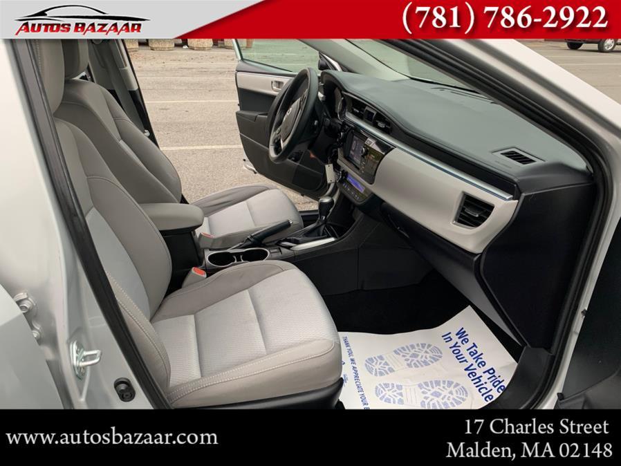 Used Toyota Corolla 4dr Sdn CVT LE Plus (Natl) 2016   Auto Bazaar. Malden, Massachusetts