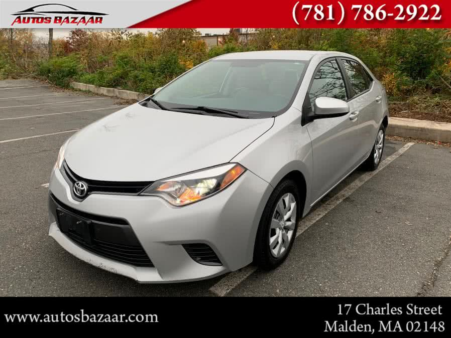 Used 2016 Toyota Corolla in Malden, Massachusetts | Auto Bazaar. Malden, Massachusetts