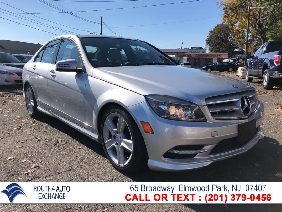 2011 Mercedes-Benz C-Class 4dr Sdn C300 Luxury 4MATIC, available for sale in Elmwood Park, New Jersey | Route 4 Auto Exchange. Elmwood Park, New Jersey