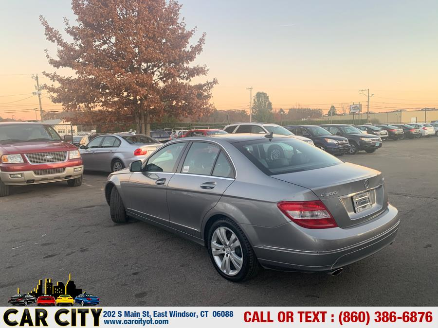 2008 Mercedes-Benz C-Class 4dr Sdn 3.0L Sport 4MATIC, available for sale in East Windsor, Connecticut | Car City LLC. East Windsor, Connecticut
