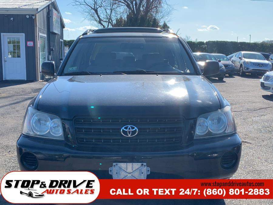2003 Toyota Highlander 4dr V6 4WD Limited (Natl), available for sale in East Windsor, Connecticut   Stop & Drive Auto Sales. East Windsor, Connecticut