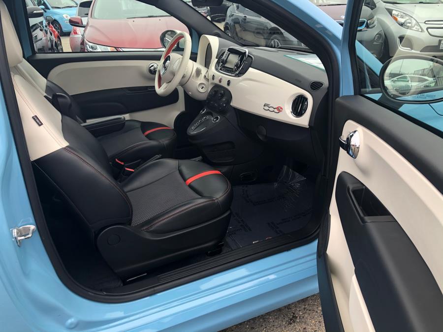 2016 FIAT 500e Steam Interior, available for sale in Daly City, California | Green Light Auto Wholesale. Daly City, California