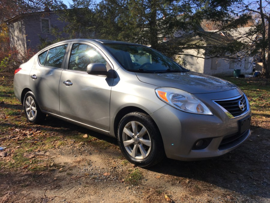 2012 Nissan Versa 4dr Sdn CVT 1.6 SL, available for sale in Norwich, Connecticut | Elite Auto Brokers LLC. Norwich, Connecticut