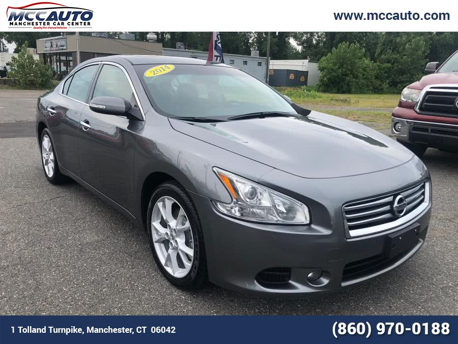 2014 Nissan Maxima 4dr Sdn 3.5 SV w/Premium Pkg, available for sale in Manchester, Connecticut | Manchester Car Center. Manchester, Connecticut