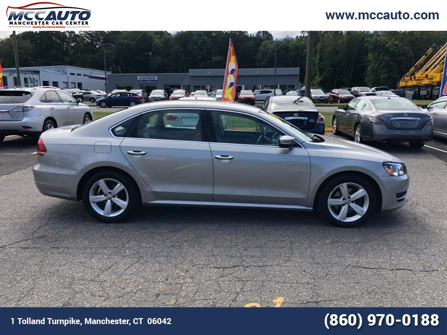 2014 Volkswagen Passat 4dr Sdn 2.5L Auto SE PZEV *Ltd Avail*, available for sale in Manchester, Connecticut | Manchester Car Center. Manchester, Connecticut