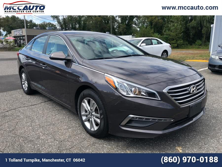 Used 2015 Hyundai Sonata in Manchester, Connecticut | Manchester Car Center. Manchester, Connecticut