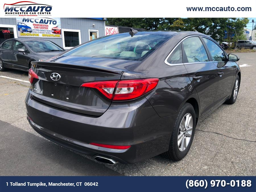 2015 Hyundai Sonata 4dr Sdn 2.4L SE, available for sale in Manchester, Connecticut | Manchester Car Center. Manchester, Connecticut