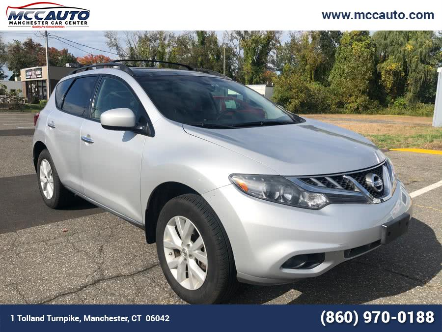 Used Nissan Murano AWD 4dr SL 2012 | Manchester Car Center. Manchester, Connecticut