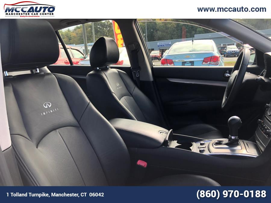 2011 Infiniti G25 Sedan 4dr x AWD, available for sale in Manchester, Connecticut | Manchester Car Center. Manchester, Connecticut