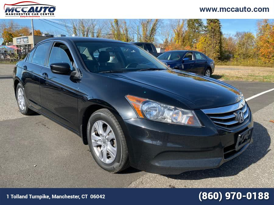 Used 2012 Honda Accord Sdn in Manchester, Connecticut | Manchester Car Center. Manchester, Connecticut