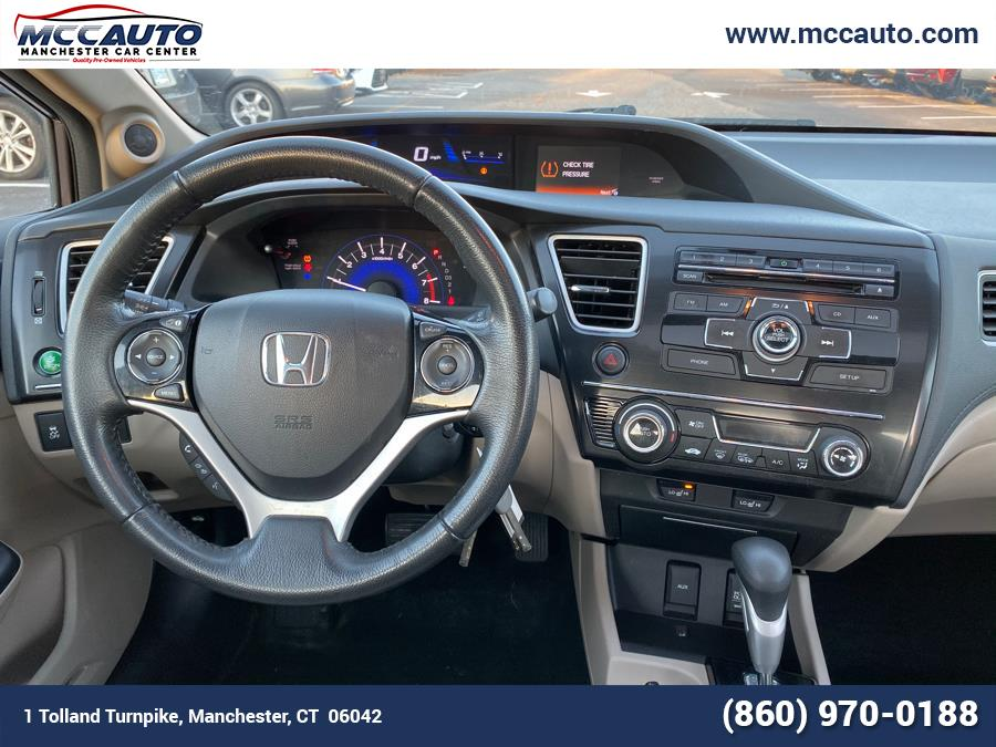 2013 Honda Civic Sdn 4dr Auto EX-L, available for sale in Manchester, Connecticut | Manchester Car Center. Manchester, Connecticut
