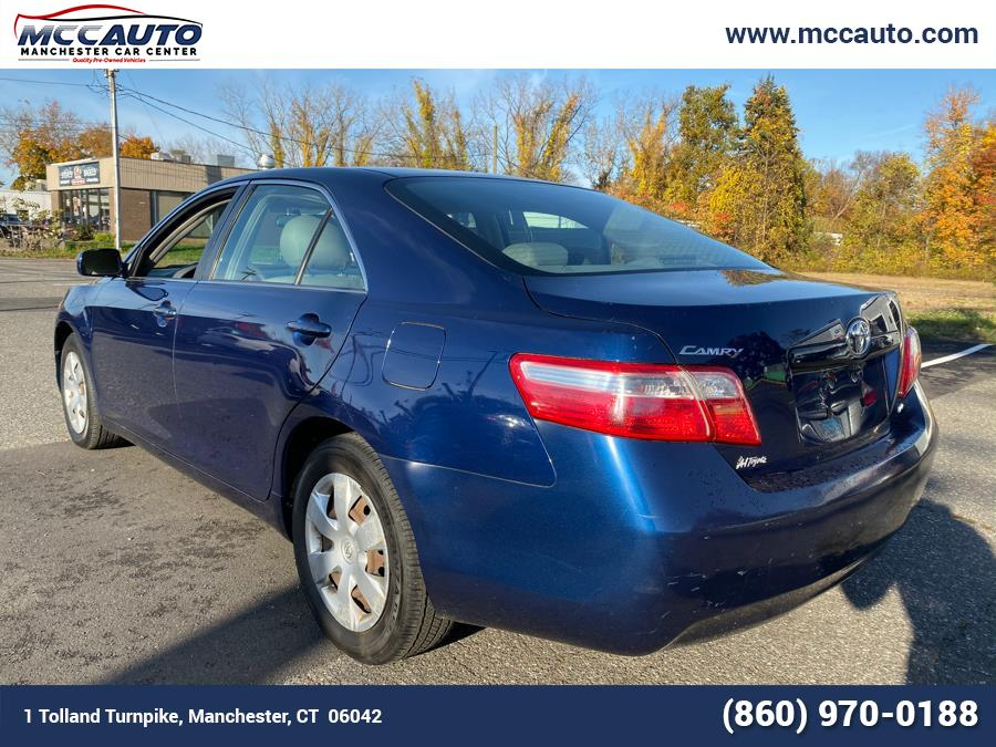 2007 Toyota Camry 4dr Sdn I4 Auto CE (Natl), available for sale in Manchester, Connecticut   Manchester Car Center. Manchester, Connecticut