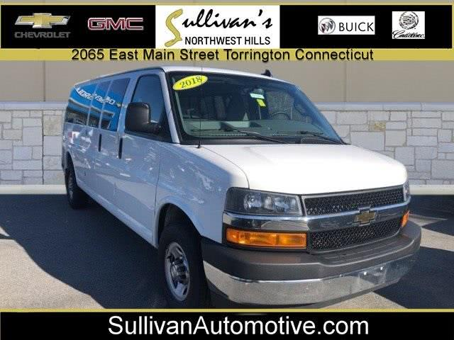 Used Chevrolet Express 3500 LT 2018 | Sullivan Automotive Group. Avon, Connecticut