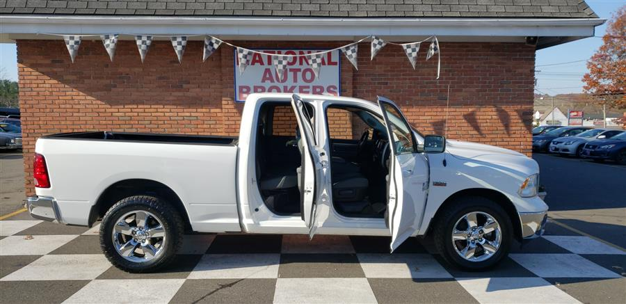 2015 Ram 1500 HEMI 4WD Quad Cab Big Horn, available for sale in Waterbury, Connecticut | National Auto Brokers, Inc.. Waterbury, Connecticut