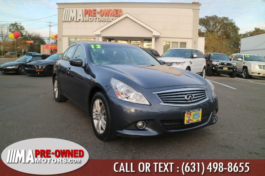 Used 2012 Infiniti G25 Sedan in Huntington, New York | M & A Motors. Huntington, New York