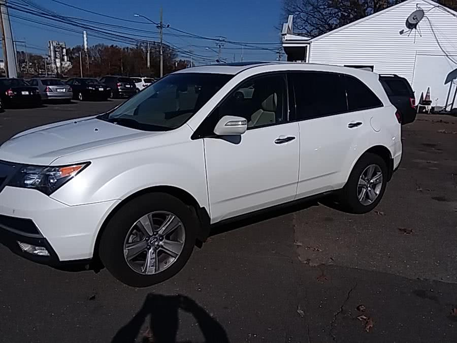 Used Acura MDX AWD 4dr Tech Pkg 2012 | Vertucci Automotive Inc. Wallingford, Connecticut