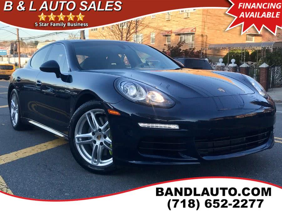 Used 2015 Porsche Panamera in Bronx, New York | B & L Auto Sales LLC. Bronx, New York