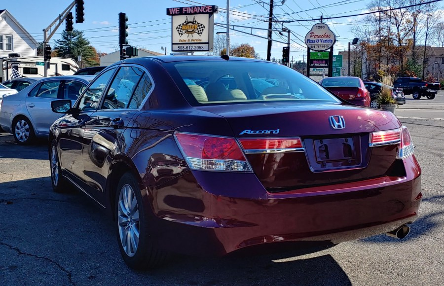 2012 Honda Accord Sdn 4dr I4 Auto EX-L, available for sale in Worcester, Massachusetts | Rally Motor Sports. Worcester, Massachusetts